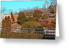 Sagamihara Asamizo Park 16f Greeting Card