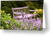 Sage Garden Greeting Card