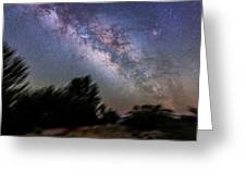 Sagittarius And Scorpius From Arizona Greeting Card