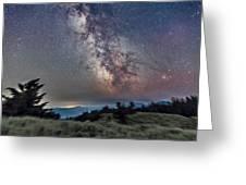 Sagittarius Over Sagebrush Greeting Card
