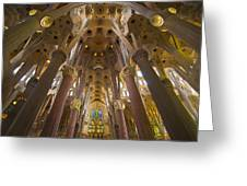 Sagrada Familia IIi Greeting Card