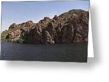 Saguaro Lake Greeting Card