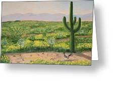 Saguaro Monument Greeting Card