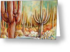 Saguaro National Forest Greeting Card