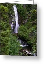 Sahale Falls In Oregon Greeting Card