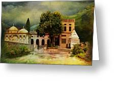 Saidpur Village Greeting Card by Catf