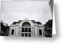 Saigon Opera House Greeting Card