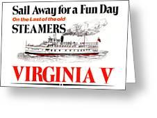 Sail Away For A Fun Day Greeting Card