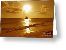 Sail On Greeting Card