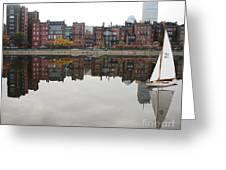 Sail With Me Greeting Card by Susan Hernandez