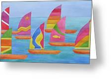Sailabration Greeting Card