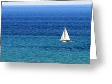 Sailboat 2 Greeting Card