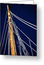 Sailboat Lines Greeting Card