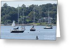 Sailboat Serenity Greeting Card