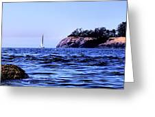 Sailboat's Level Greeting Card