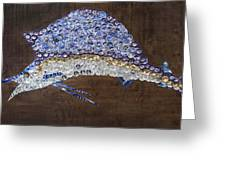 Sailfish #1 Greeting Card