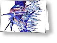 Sailfish Ballyhoo Greeting Card
