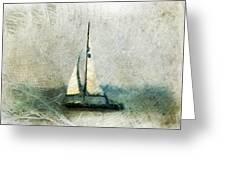 Sailin' With Sally Starr Greeting Card