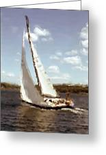 Sailing 1 Greeting Card