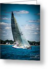 Sailing 97045 Greeting Card