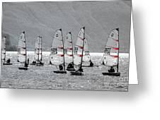 Sailing Boats Greeting Card
