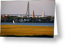 Sailing Charleston Greeting Card