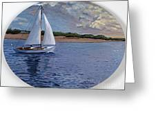 Sailing Homeward Bound Greeting Card