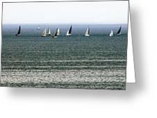 Sailing On Lake Erie Greeting Card