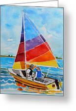 Sailing On The Choptank Greeting Card