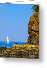 Sailing - Portrait Greeting Card