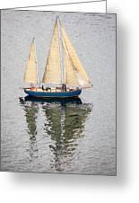 Sailing Puget Sound Greeting Card