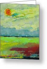 Sailing Thru Color Greeting Card