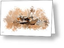 Sailing Time Greeting Card