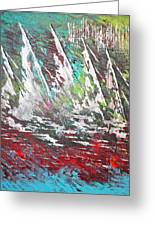 Sailing Together - Sold Greeting Card