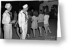 Sailors Night Out Greeting Card