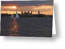 Sailray Greeting Card