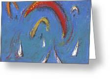 Sails And Kites 5  Greeting Card
