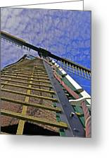 Sails Of A Windmill Greeting Card