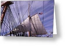 Sails Ready Greeting Card