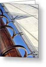 Sails Up Greeting Card