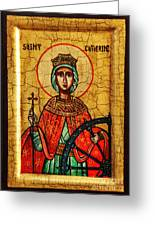 Saint Catherine Of Alexandria Icon Greeting Card
