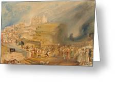 Saint Catherine's Hill Greeting Card
