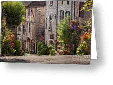 Saint Cirq Street Greeting Card