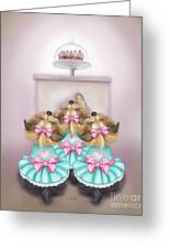 Saint Cupcakes Greeting Card