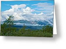 Saint Elias Mountains In Kluane National Park-yk  Greeting Card