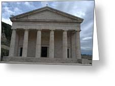 Saint George Corfu 1840 Greeting Card