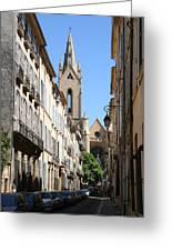 Saint Jean De Malte - Aix En Provence Greeting Card
