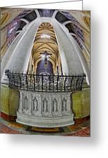 Saint John The Divine Rear Altar View Greeting Card