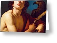 Saint John The Evangelist Greeting Card