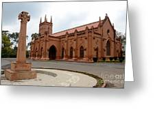 Saint John's Cathedral Anglican Church Peshawar Pakistan Greeting Card
